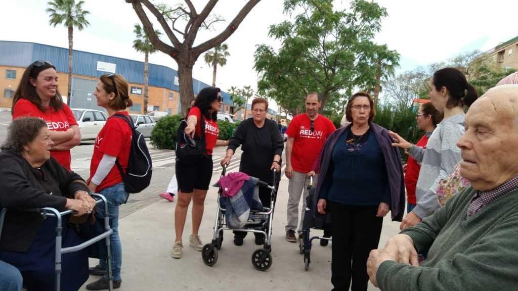 Foto 3  Compartiendo día con compañeros y compañeras de KW en centro de mayores de Aldaia y Quart de Poblet
