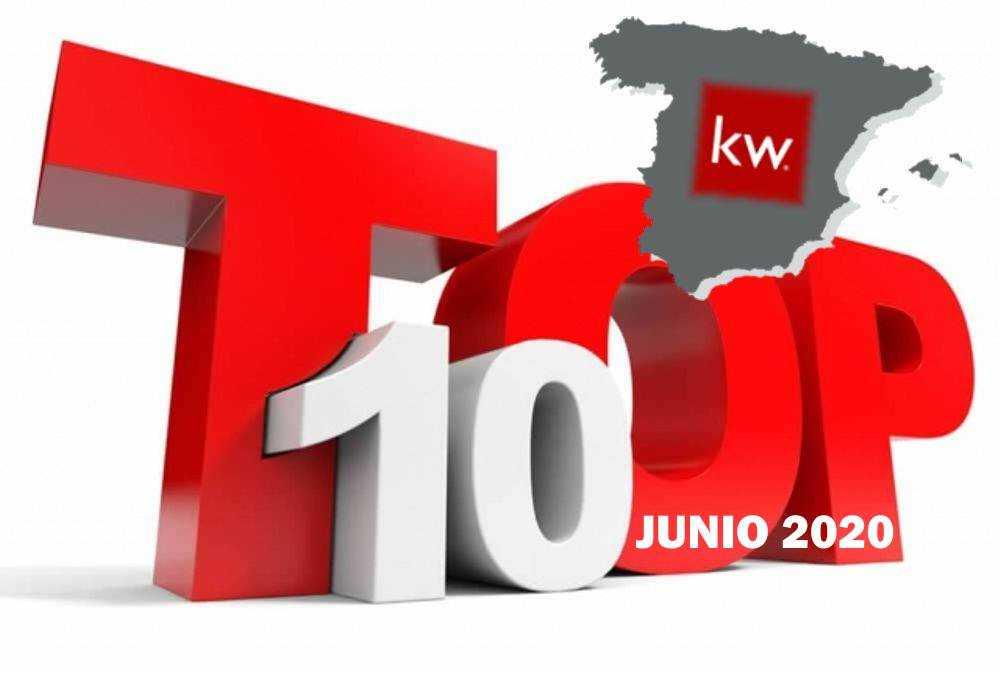 Top Agentes inmobiliarios KELLER WILLIAMS en España - Junio 2020